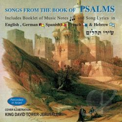 Songs from the Book of Psalms CD Cover Art