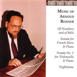 Rosner, Arnold - Music of Arnold Rosner CD Cover Art