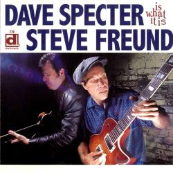 Freund, Steve / Specter, Dave - Is What It Is CD Cover Art