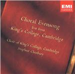 Choir Of Kings College - Choral Evensong Live From King's College, Cambridge DB Cover Art