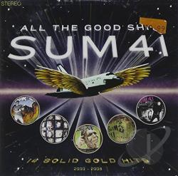 Sum 41 - All the Good Sh**: 14 Solid Gold Hits 2000-2008 CD Cover Art