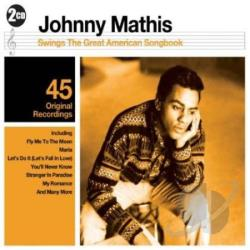 Mathis, Johnny - Swings the Great American Songbook CD Cover Art