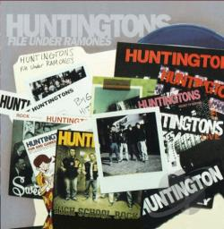 Huntingtons - File Under Ramones CD Cover Art