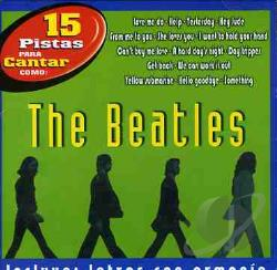Karaoke - 15 Pistas Para Cantar Como The Beatles CD Cover Art