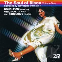 Negro, Joey / P, Sean - Soul of Disco, Vol. 2 CD Cover Art