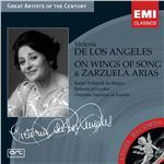De Los Angeles, Victoria - On Wings of Songs & Zarzuela Arias DB Cover Art