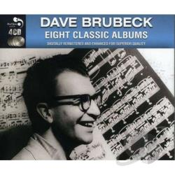 Brubeck, Dave - 8 Classic Albums CD Cover Art