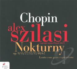 Szilasi, Alex:pno - Chopin: Nokturny CD Cover Art