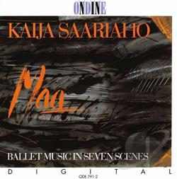 Instrumental - Saariaho: Maa CD Cover Art