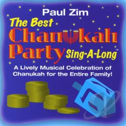 Zim, Paul - Best Chanukah Party Sing-Along CD Cover Art