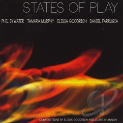 States Of Play-Elissa Goodrich, Phil Bywater, Tama - States Of Play CD Cover Art