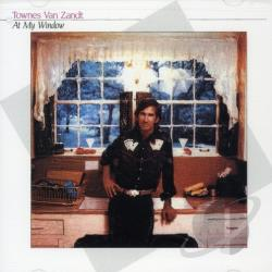 Van Zandt, Townes - At My Window CD Cover Art