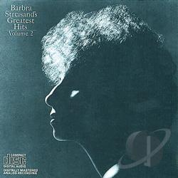 Streisand, Barbra - Barbra Streisand's Greatest Hits, Vol. 2 CD Cover Art