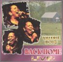 Boyd, Valerie - Back Home Live CD Cover Art