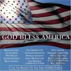 God Bless America CD Cover Art