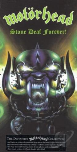 Motorhead - Stone Deaf Forever! CD Cover Art