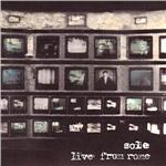 Sole - Live from Rome CD Cover Art
