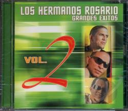 Los Hermanos Rosario - Grandes Exitos Vol. 2 CD Cover Art