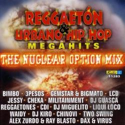Reggaeton and Urbanohip Hop Megahits CD Cover Art