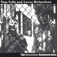 Vella, Tom - Disclaimer Demonstration CD Cover Art