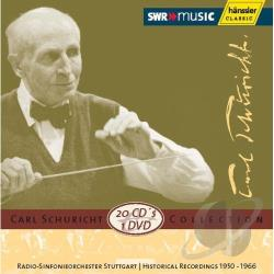 Stuttgart Radio Symp - Carl Schuricht Collection CD Cover Art