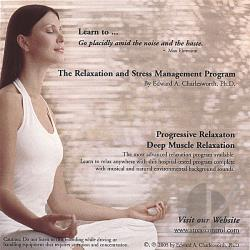 Edward A. Charlesworth, Ph.D. - Relaxation and Stress Management Program: Progressive and Deep Muscle Relaxation CD Cover Art