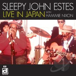 Estes, Sleepy John - Live In Japan With Hammie Nixon CD Cover Art