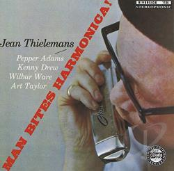 Thielemans, Jean / Thielemans, Toots - Man Bites Harmonica CD Cover Art