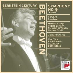 Beethoven / Bernstein / New York Philharmonic - Beethoven: Symphony No. 9; Fidelio Overture CD Cover Art