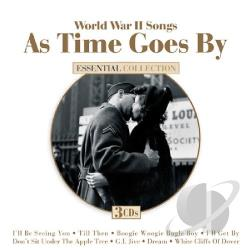 World War II Songs: As Time Goes By CD Cover Art