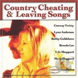 Country Cheating & Leaving Songs CD Cover Art