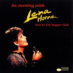 Horne, Lena - Evening With Lena Horne: Live At The Supper Club DB Cover Art
