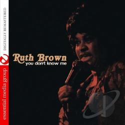 Brown, Ruth - You Don't Know Me CD Cover Art