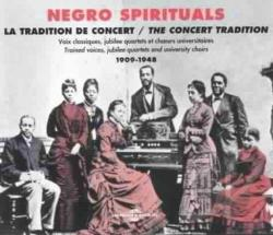 Negro Spirituals: The Concert Tradition CD Cover Art