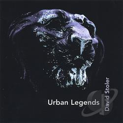 Stoler, David - Urban Legends CD Cover Art