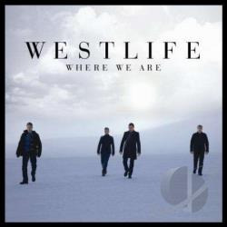 Westlife - Where We Are CD Cover Art