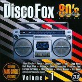 80s Revolution: Disco Fox, Vol. 1 CD Cover Art