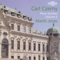 Jones, Martin: pno - Carl Czerny: Piano Sonatas, Vol. 2 CD Cover Art