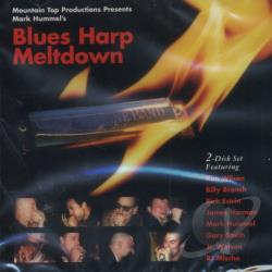 Hummel, Mark - Blues Harp Meltdown CD Cover Art