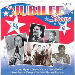 Mercer, Johnny - Jubilee Shows, Vol. 10: Nos. 56 & 61 CD Cover Art