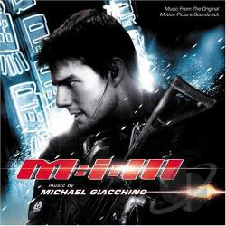 Giacchino, Michael - Mission: Impossible 3 CD Cover Art