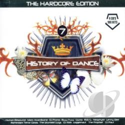 History Of Dance, Vol. 7: The Hardcore Edition CD Cover Art