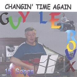 Leroux, Guy - Changin' Time Again CD Cover Art
