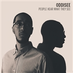Oddisee - People Hear What They See CD Cover Art