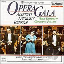 Aliberti / Bruson / Dvorsky - Opera Gala CD Cover Art
