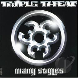 Triple Threat - Many Styles CD Cover Art