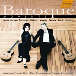 Amadeus Guitar Duo - Baroque Moments CD Cover Art