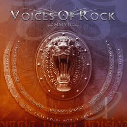 Voices Of Rock - Mmvii CD Cover Art