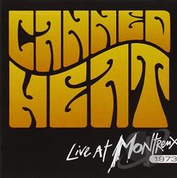 Canned Heat - Live At Montreux 1973 CD Cover Art