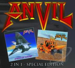 Anvil - Speed Of Sound / Plenty Of Power CD Cover Art